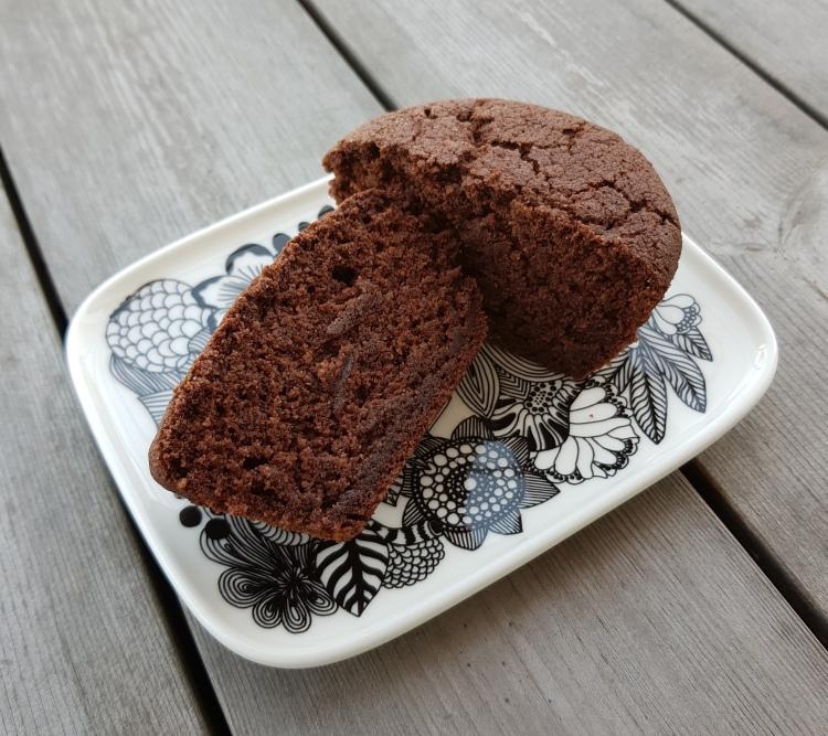 gluteeniton vegaaninen muffini